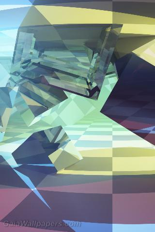 Colors in an inner cube world - Free desktop wallpapers