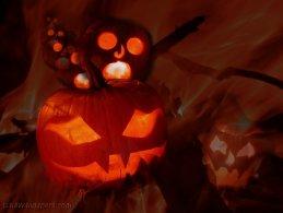 Halloween ghost pumpkin party desktop wallpapers