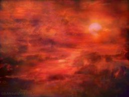 Burning sky desktop wallpapers