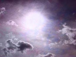 Purple sunny sky desktop wallpapers