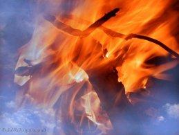 Sky dreaming of fire desktop wallpapers