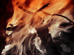 Fire fading to black desktop wallpapers