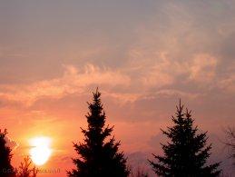 Orange pink sunrise desktop wallpapers
