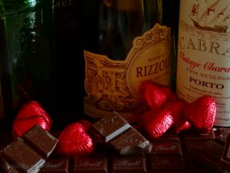 Chocolate and wine desktop wallpapers