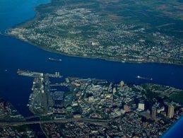 Villes de Québec vue des airs fonds d'écran gratuits