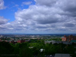 Montreal seen from the Université de Montréal desktop wallpapers
