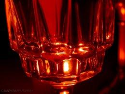 Candle light effect through a glass desktop wallpapers