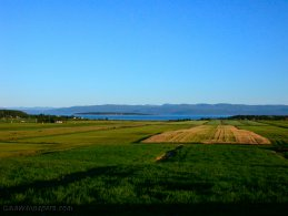 Morning on the countryside of the Kamouraska region desktop wallpapers