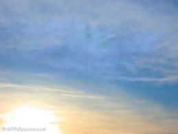 Yellow-blue sunrise desktop wallpapers