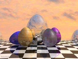 Virtual Easter eggs desktop wallpapers