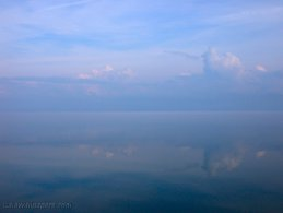 Perfect reflection on the Saint-Lawrence river desktop wallpapers
