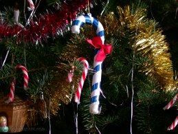 Christmas cane decorations desktop wallpapers