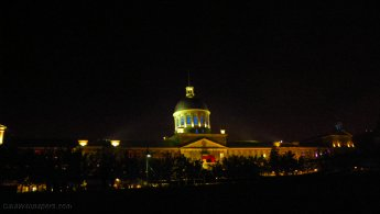Bonsecours Market at night desktop wallpapers