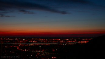 Montreal at dusk desktop wallpapers
