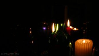 Candles and bottles desktop wallpapers