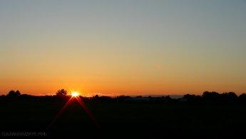 Sunrise over the plains desktop wallpapers