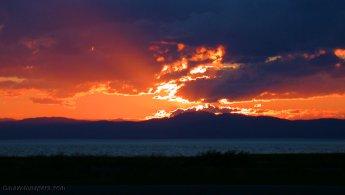 Sunset over Charlevoix desktop wallpapers
