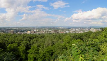 Montreal East seen from Mount Royal desktop wallpapers