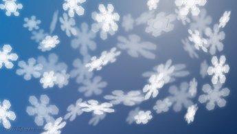 Virtual snowflakes desktop wallpapers