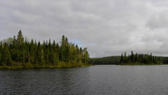 Beautiful cloudy day over a wild lake desktop wallpapers