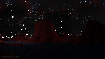 Étoiles proches dans un monde étrange et sombre fonds d'écran gratuits