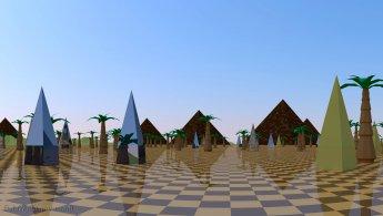 Si l'Égypte était un monde virtuel fonds d'écran gratuits