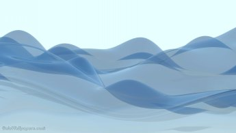 Virtual glassy waves desktop wallpapers