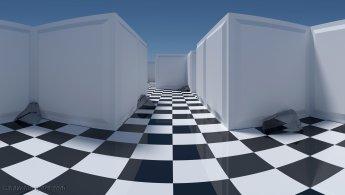 Labyrinthe en damier fonds d'écran gratuits