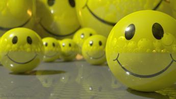 Frénésie de smiley fonds d'écran gratuits